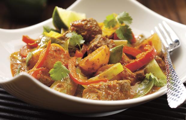 lamb thai curry