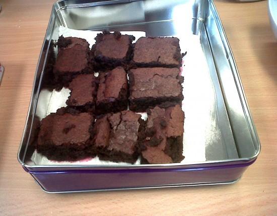 Angela's Beetroot Chocolate Brownies