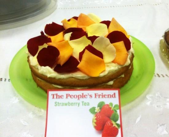 Vera's Orangecream Cheese Layer Cake
