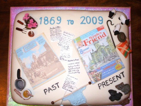 PF 140 Years Cake