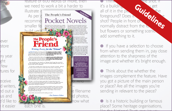 The People's Friend Writer Guidelines