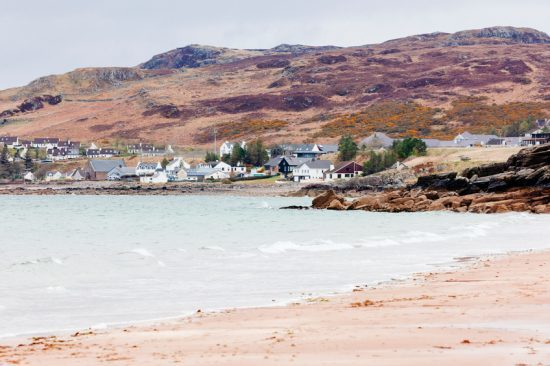 The village of Gairloch (iStock)