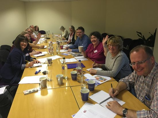 The People's Friend writing workshop group in Manchester.