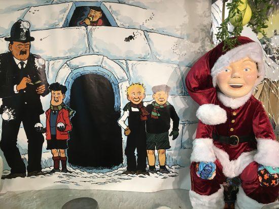 Oor Wullie says Merry Christmas