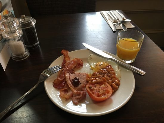This super tasty breakfast set me up for a busy workshop day!