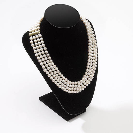 4 strand pearl necklace2