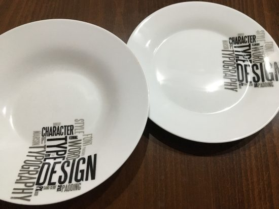 Typographical plates!