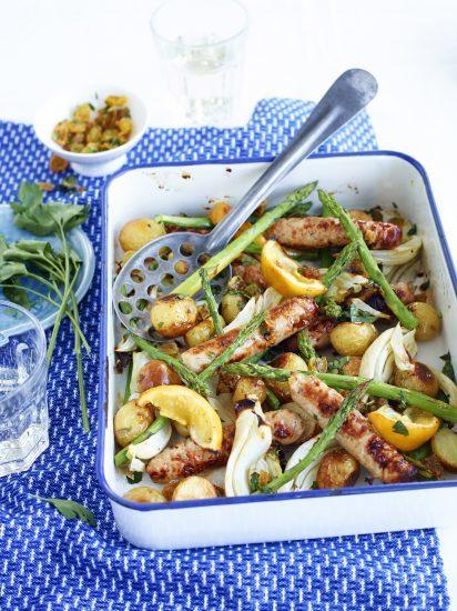 New potato sausage bake Heck Photography, Charlie Richards.