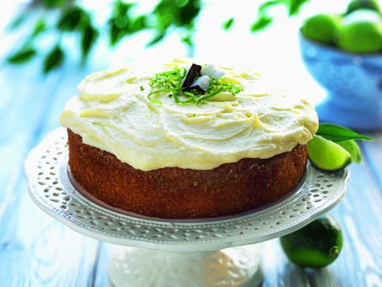 Lime Drizzle Coconut Frosting
