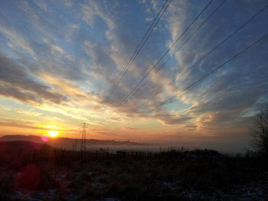 Sunrise ....Or Sunset?
