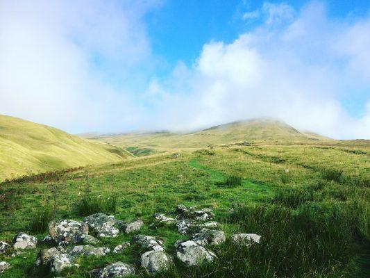 hillwalking, Sron Mhor mound