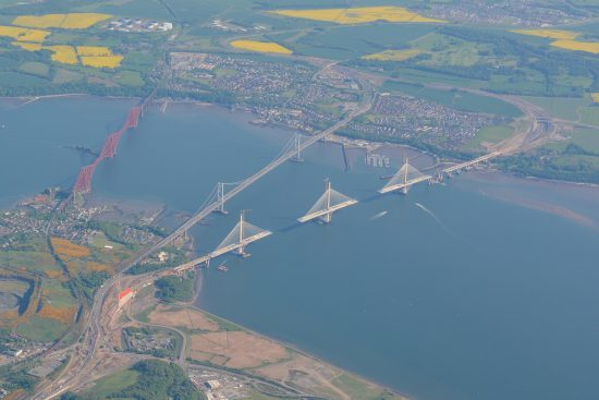 The three River Forth bridges