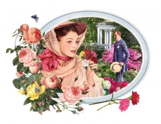Mr & Mrs Carnation, well named garden experts!