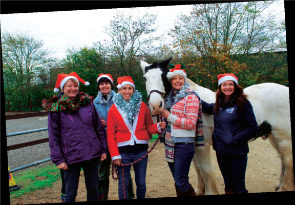 "Season's greetings to ""Friend"" readers from all at Cotswold RDA."