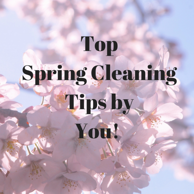 Top 20 Spring Cleaning Tips From You The People 39 S Friend