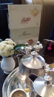 tea at Bettys York