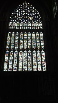 The Great East Window - restored!