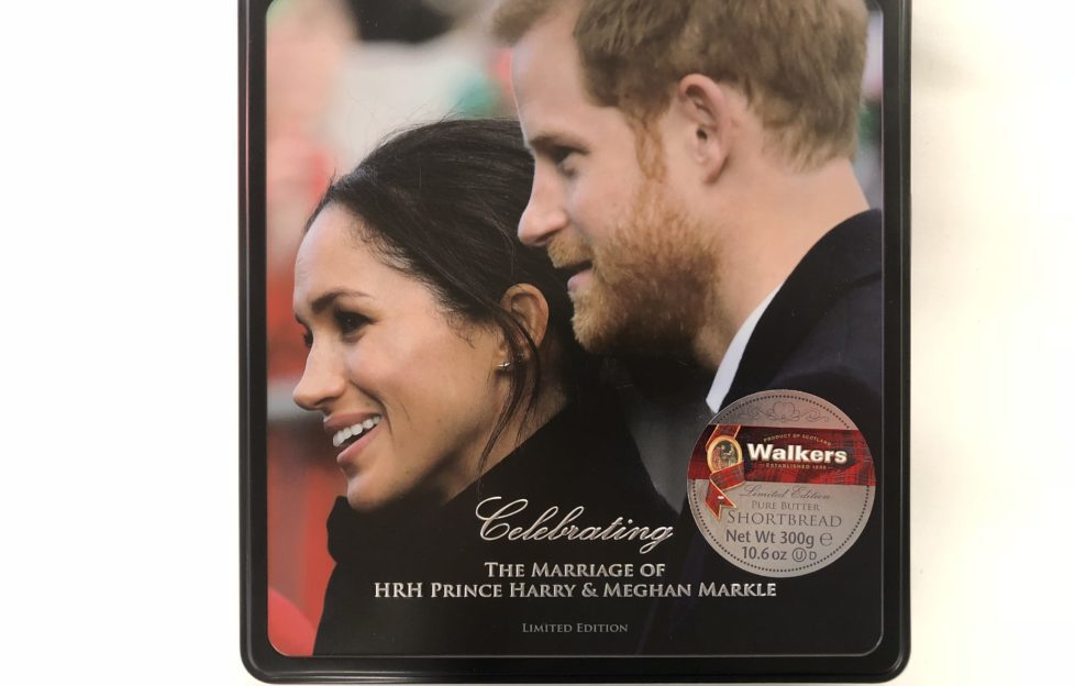 royal wedding shortbread
