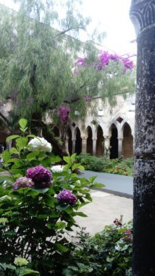 Tranquil cloisters in Sorrento