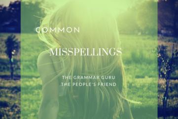 misspellings