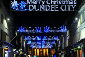 dundee christmas lights