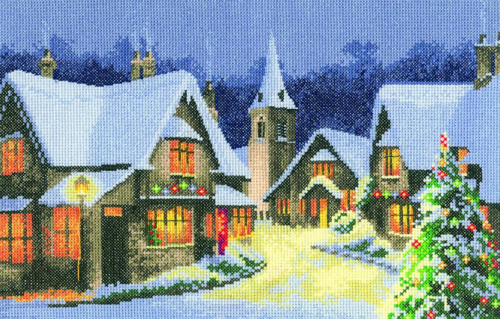 christmas stitch kit
