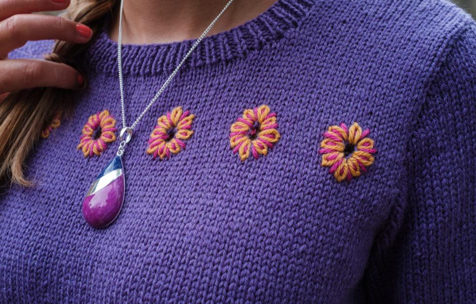 Nov 24 knitting closeup