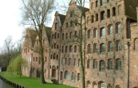 Lubeck salt storage warehouses