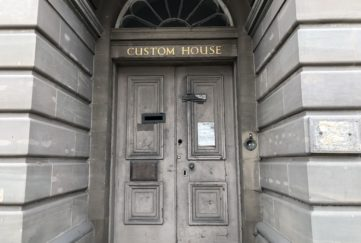 Dundee's old Custom House