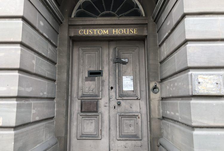 Dundee's old Custom House