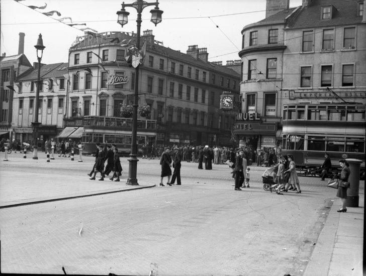 Dundee High Street, May 1945