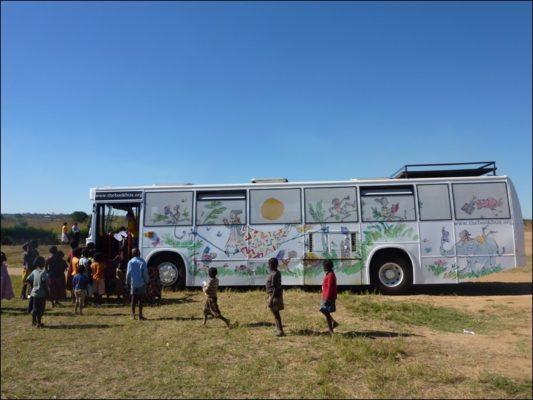 Adopt A Book Bus